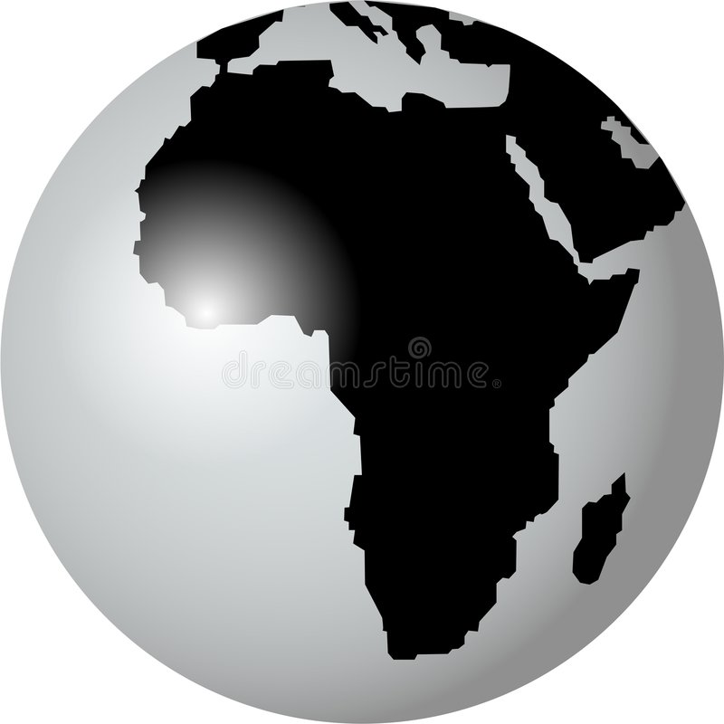 africa stock illustrationer