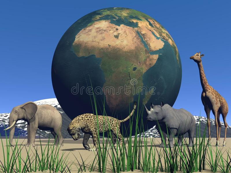 Africa and animals