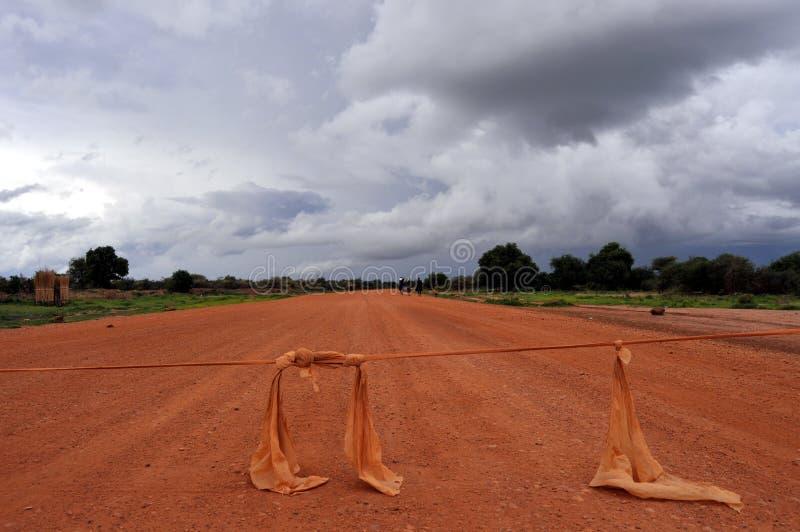 africa blokada drogi obrazy royalty free