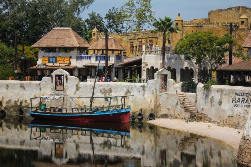Africa in Disney's Animal Kingdom. Walt Disney Worlds African located in Animal Kingdom royalty free stock photo