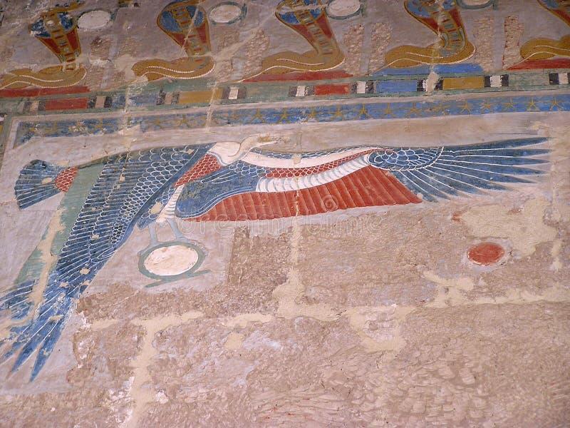 africa egypt karnaktempel arkivbild
