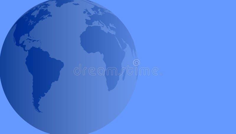 africa Europa jordklotv?rld ocks? vektor f?r coreldrawillustration stock illustrationer