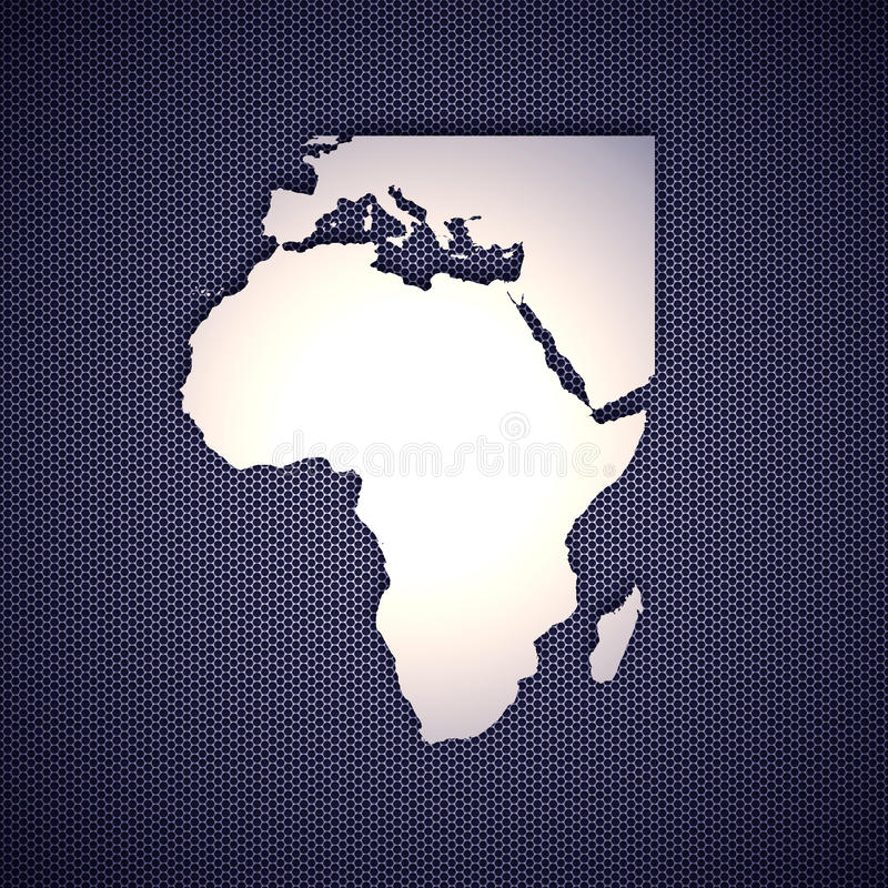 Download Africa and Europe stock illustration. Image of africa - 14853397