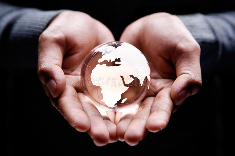 Africa And Europe Continent Royalty Free Stock Photo