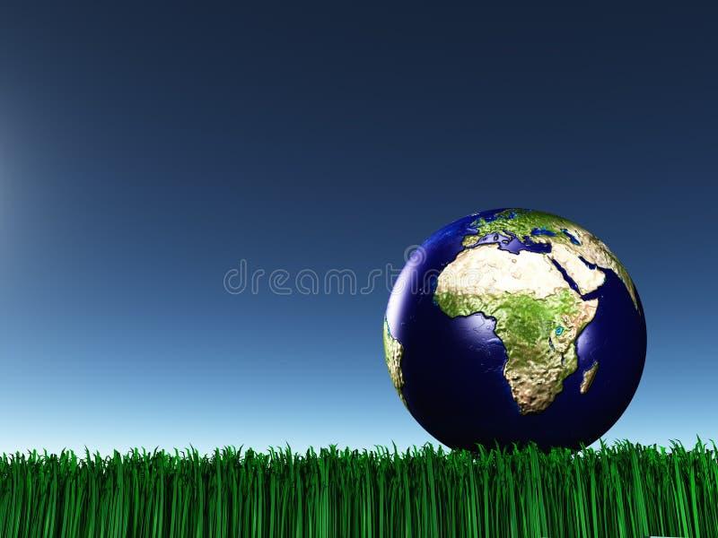 africa gräs mideast vektor illustrationer