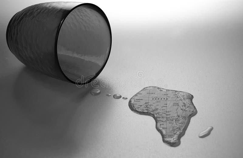 africa hjälp arkivfoto