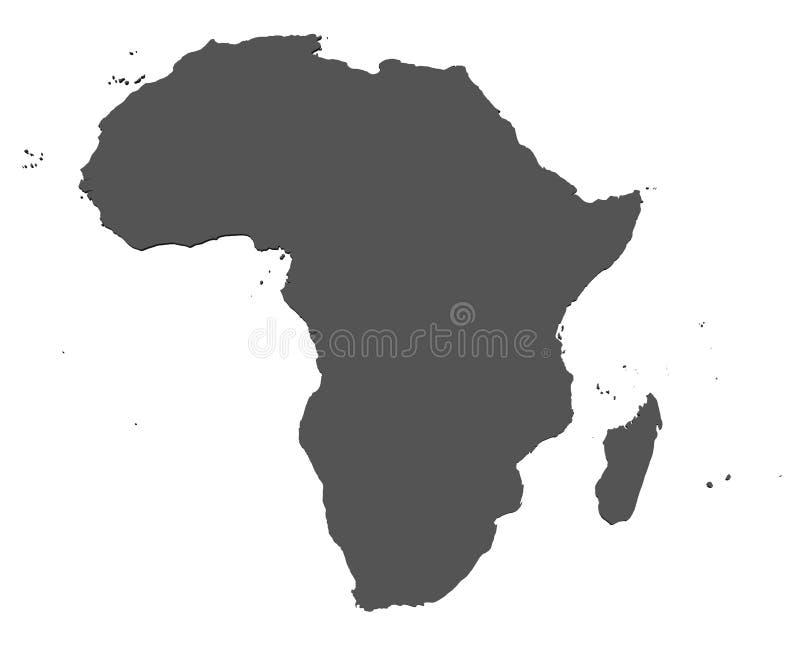 africa isolerade översikten