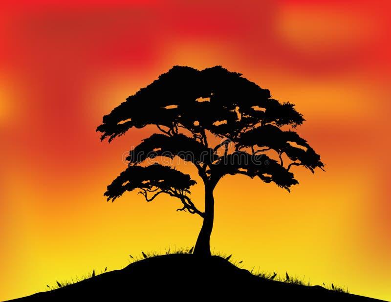 Download Africa Landscape Background Stock Vector - Illustration: 28772711