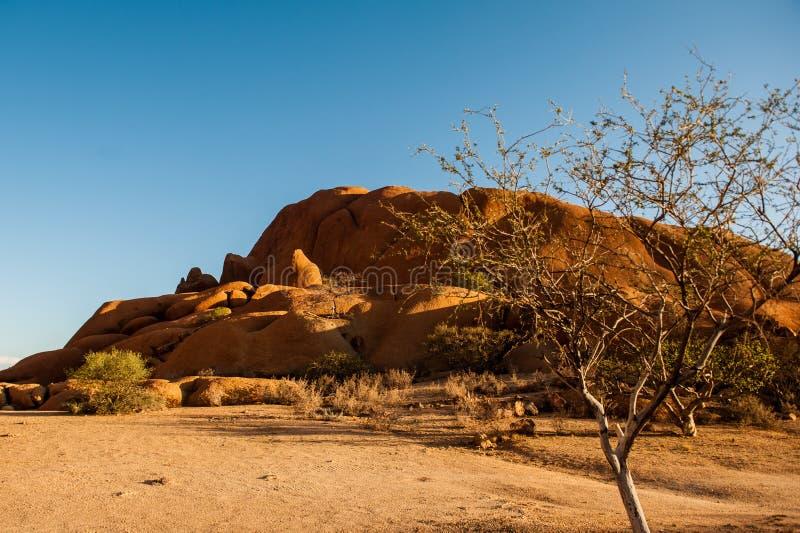 africa namibia spitzkoppe royaltyfri foto