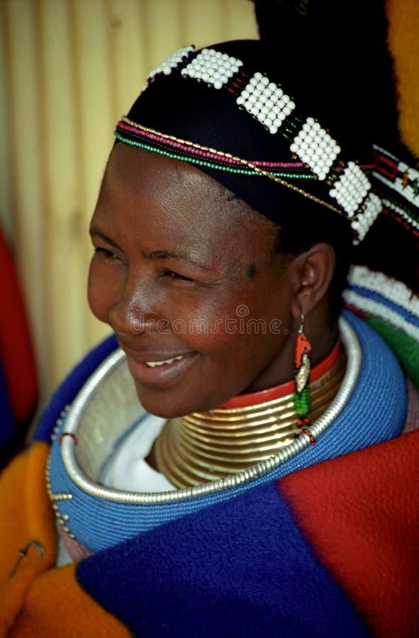 africa ndebele pielgrzyma odpoczynku s południe kobieta fotografia royalty free