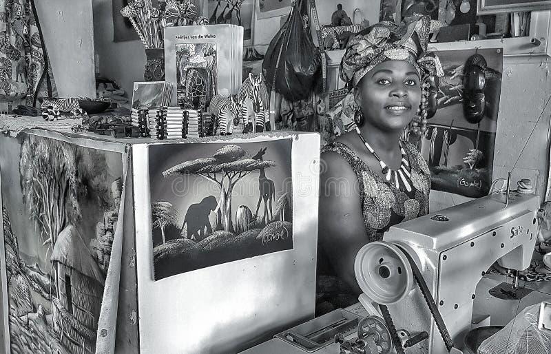 africa near berömda kanonkopberg den pittoreska södra fjädervingården royaltyfri foto