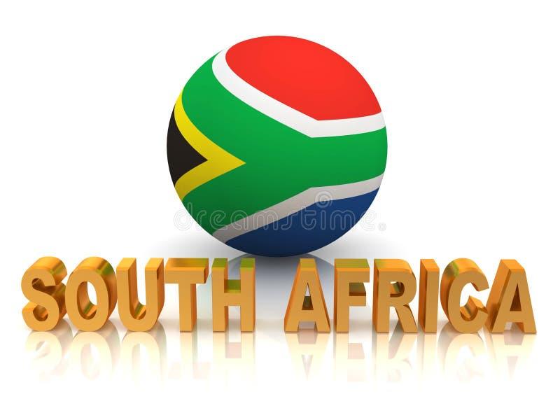 africa południe symbol royalty ilustracja