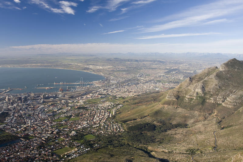 africa przylądka południe miasteczko zdjęcia stock