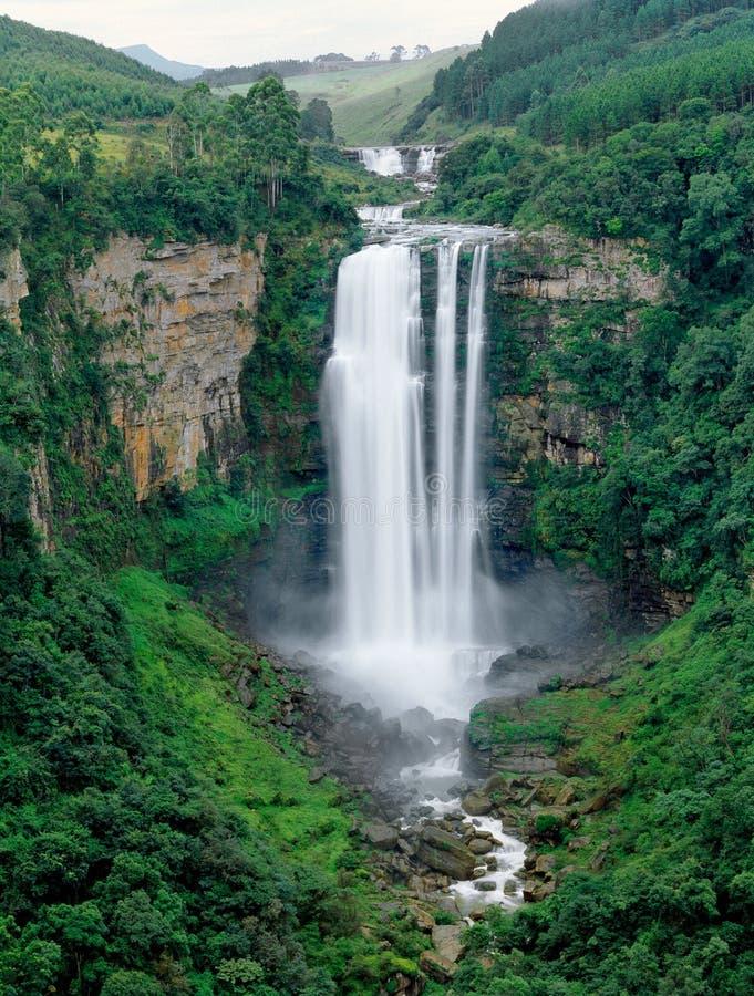 africa södra vattenfall arkivbilder