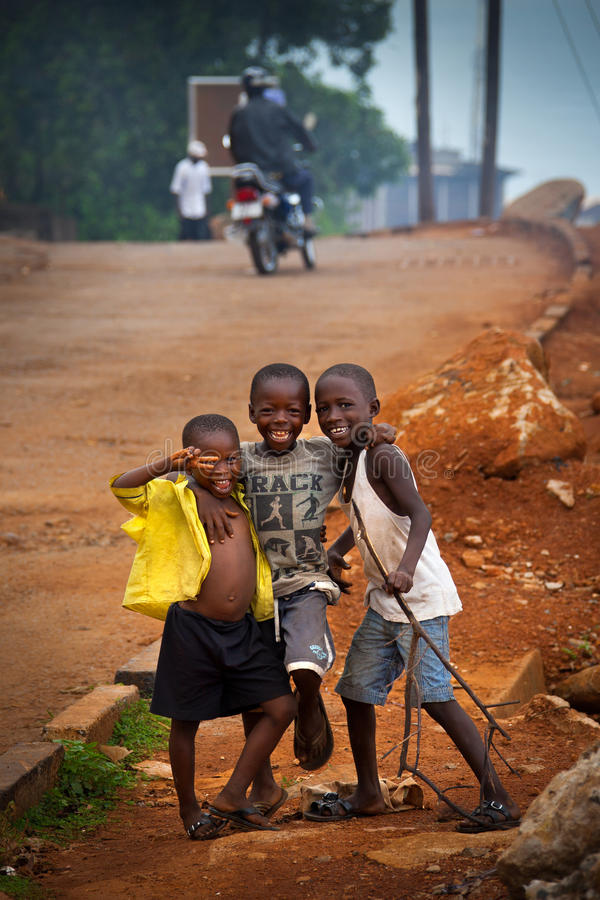 Africa, Sierra Leone, Freetown stock photo