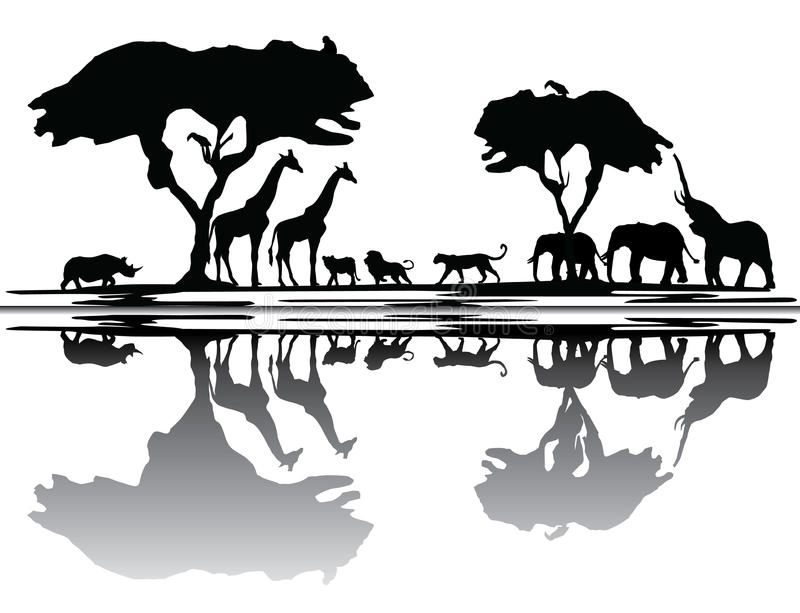 Download Africa Skyline Stock Photography - Image: 38287492