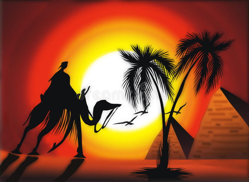 Download Africa theme stock illustration. Image of africa, deserts - 11407276