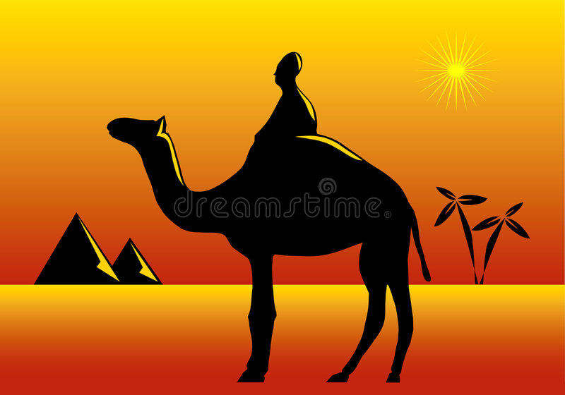 Download Africa theme stock vector. Illustration of holiday, camels - 1405320