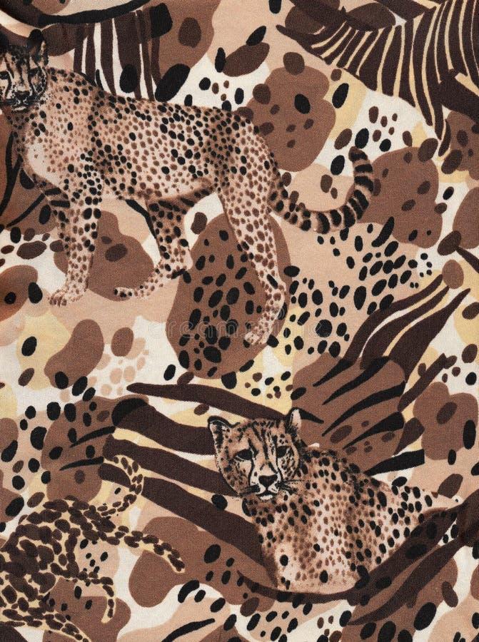 Africa wildlife background.