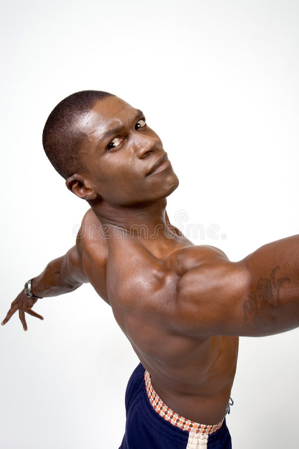 Download African American Bodybuilder Royalty Free Stock Photos - Image: 1723438