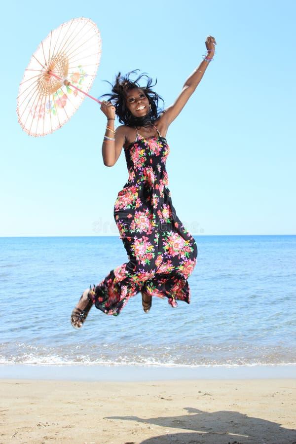 African-American bonito fotografia de stock