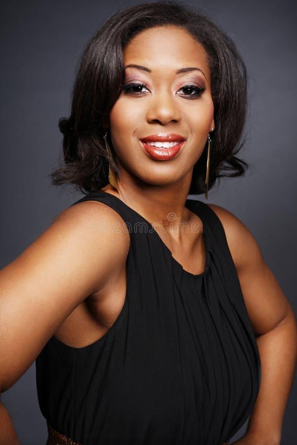 African-American bonito girl.2. foto de stock