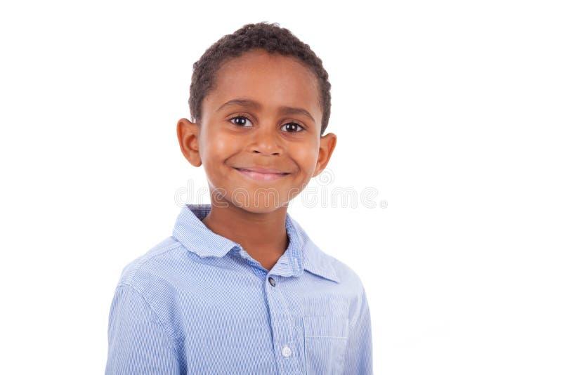 African American Boy Looking