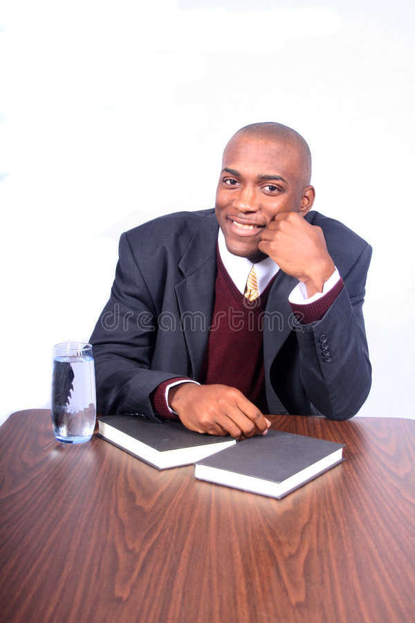 African American Business Man stock photos