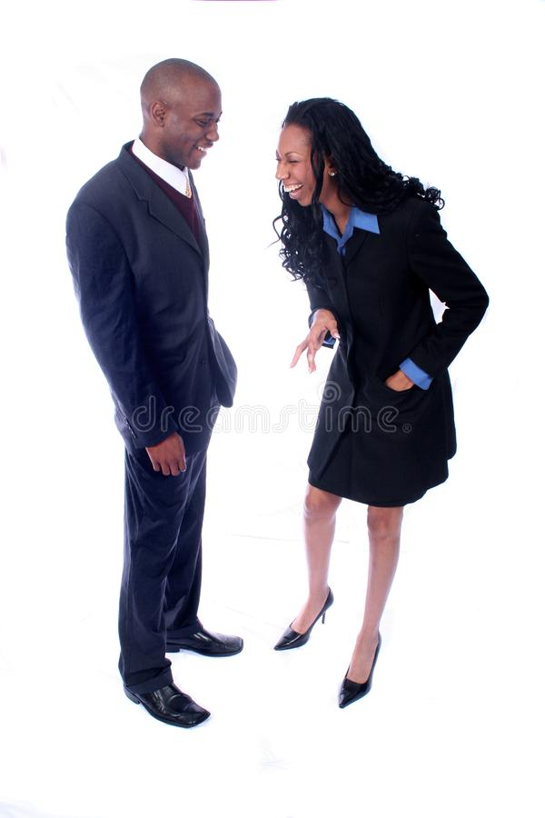 African American Business People royalty free stock images