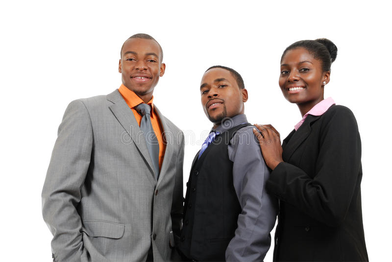 Download African American Business Team Standing Stock Image - Image: 12836287