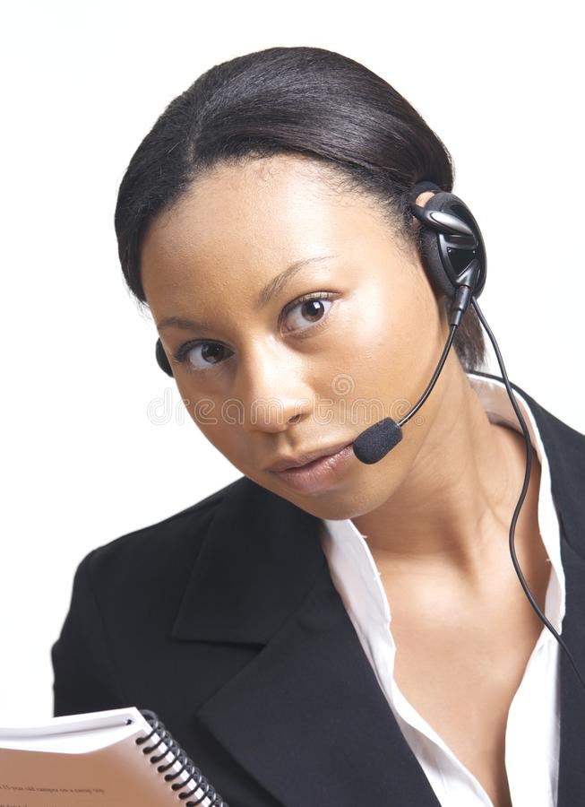 African American Business Woman royalty free stock photography