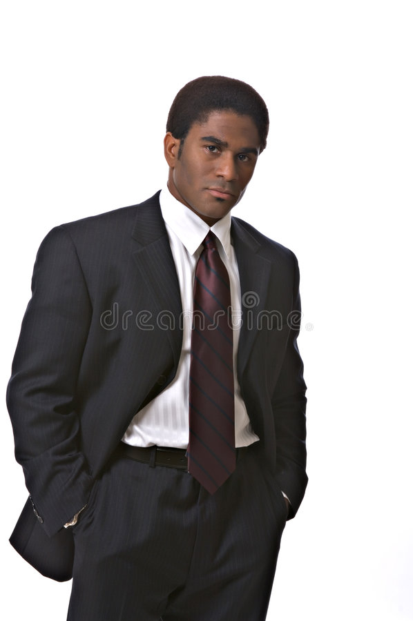 African-American businessman stock photos