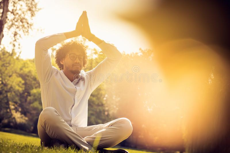 Sun and energy. stock photo