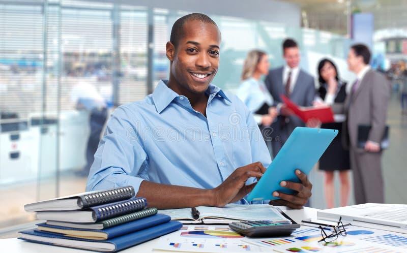 African american businessman. stock photos