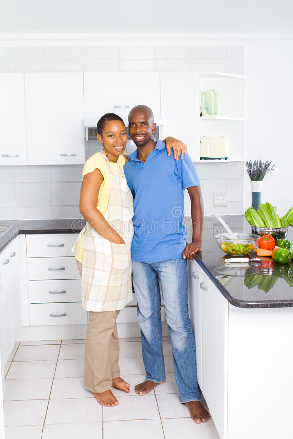 African american couple stock image