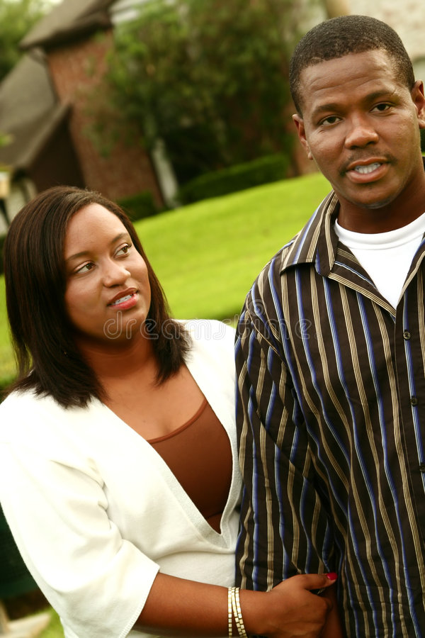 Download African American Couple Have A Fight After Walking Stock Photo - Image: 3657560