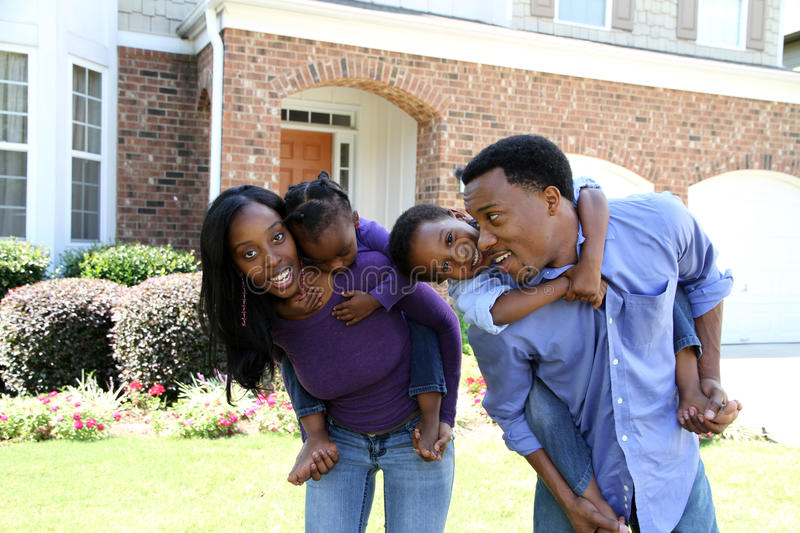 African American Family royalty free stock photo