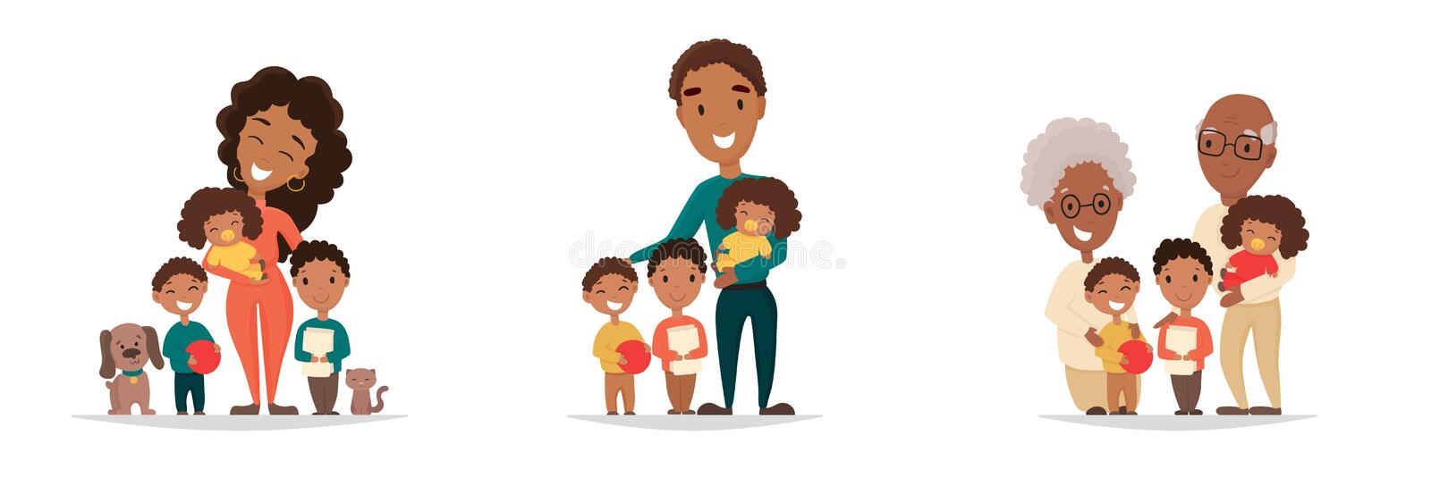 Five Members Happy Family Stock Illustrations – 11 Five Members Happy Family  Stock Illustrations, Vectors & Clipart - Dreamstime