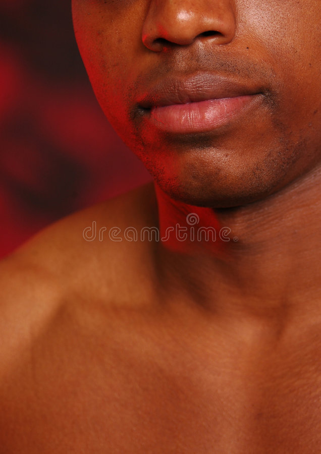 African american Lips 2 stock images