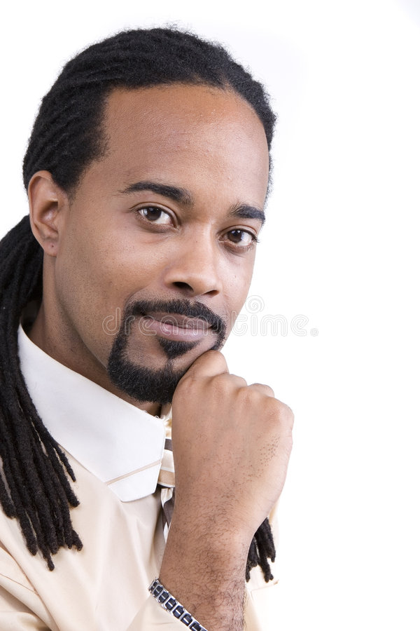 African American Male Model royalty free stock images