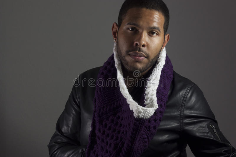 African American Male Portrait stock images