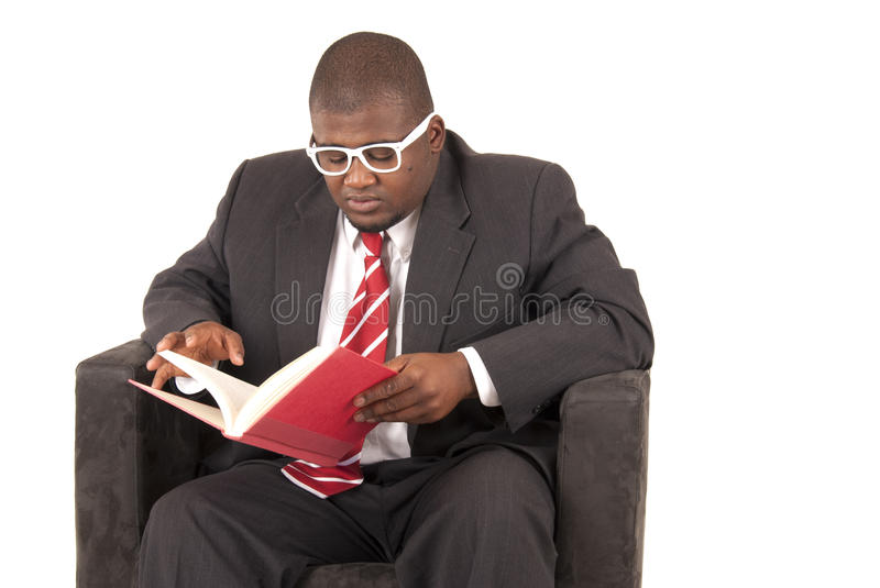 Download African American Model In Gray Business Suit Red Striped Tie Stock Photo - Image: 34335968