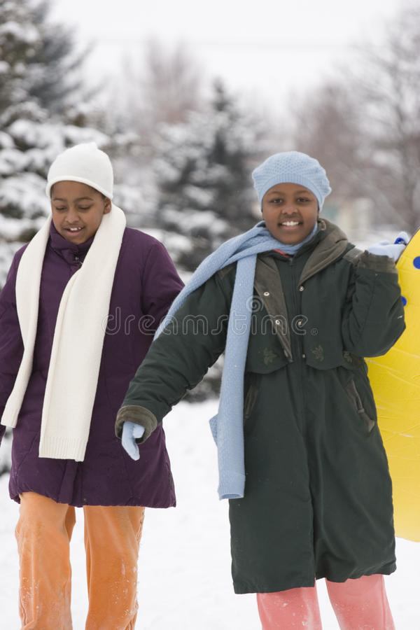 African American sisters and best friends laughing. royalty free stock photos