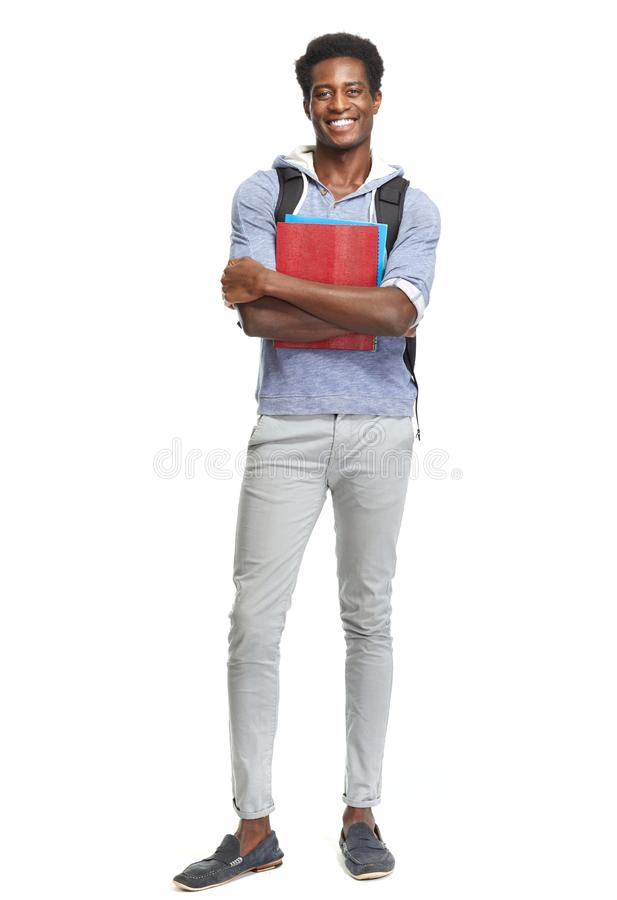African American student. royalty free stock photos