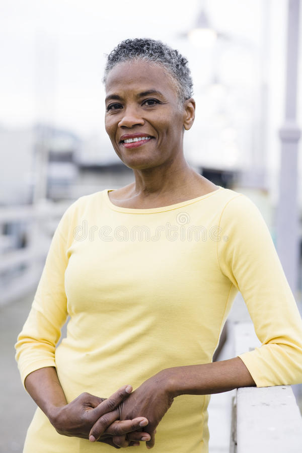 Free African American Woman Royalty Free Stock Photos - 12721588
