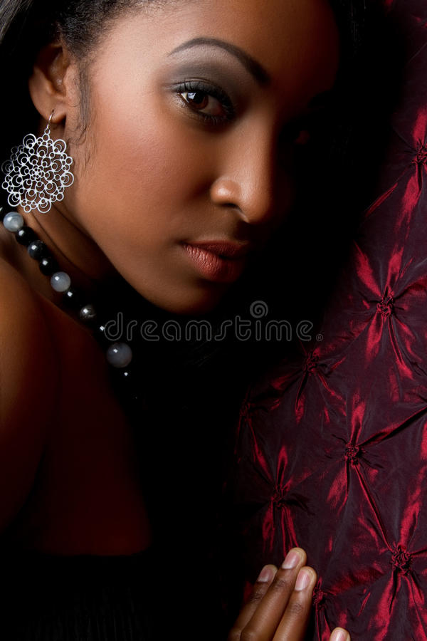 African American Woman royalty free stock photos