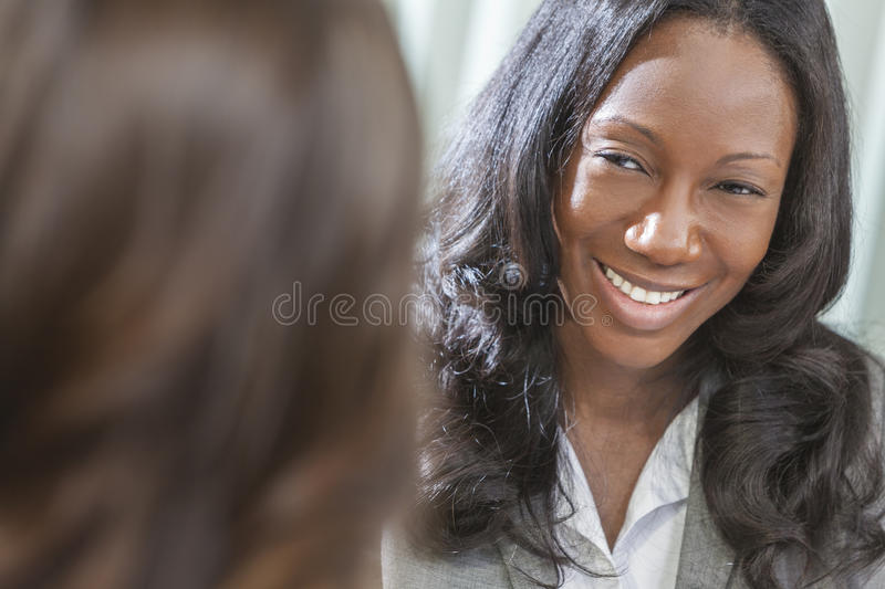 Download African American Woman Or Businesswoman In Meeting Stock Photo - Image: 26429372