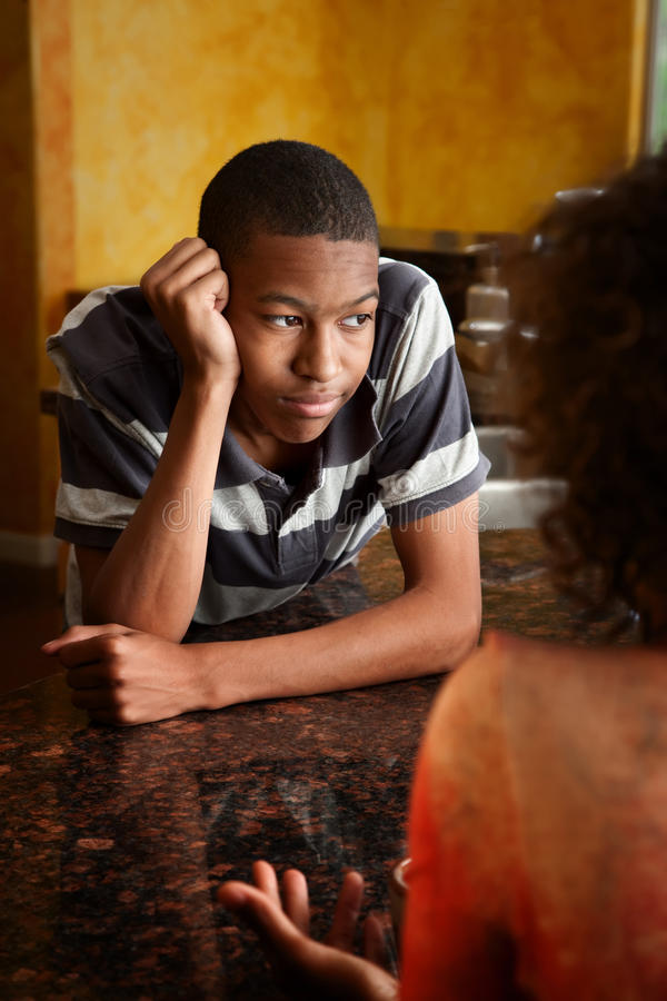 Download African-American Woman And Male Stock Photo - Image: 15865306