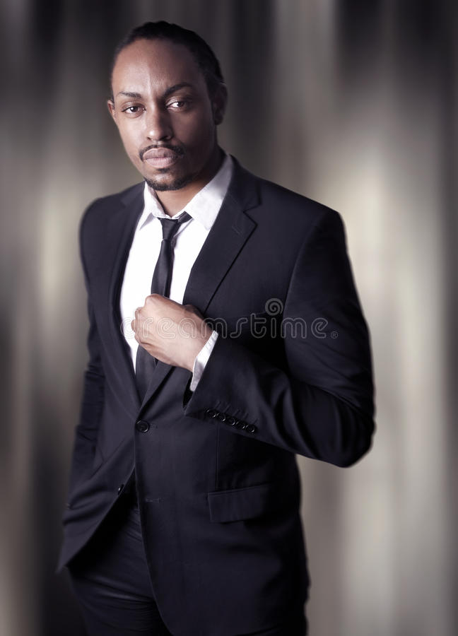 African American Young Male royalty free stock photos