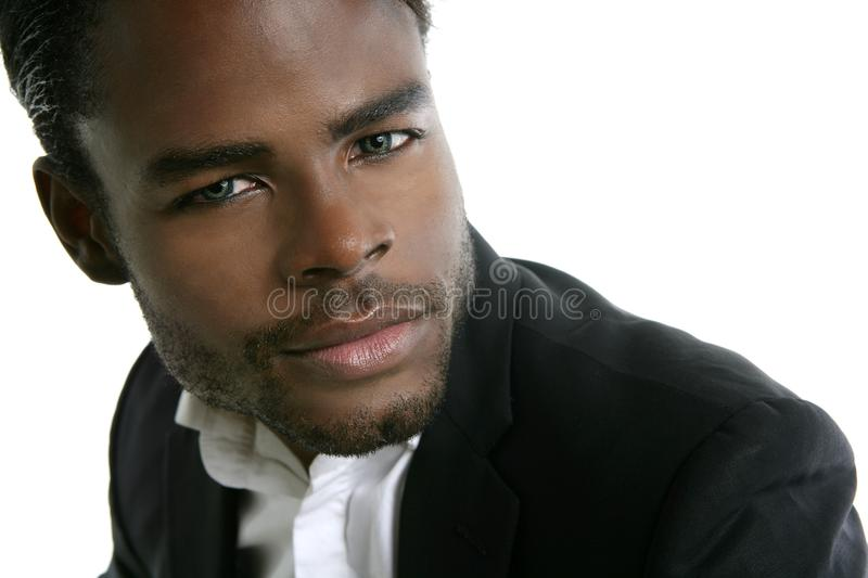 African american young model portrait royalty free stock photography